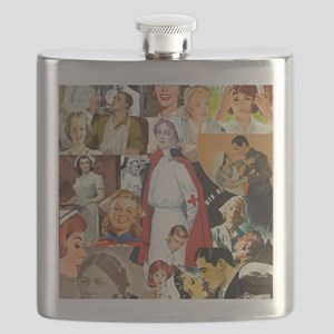 nurse collage poster Flask